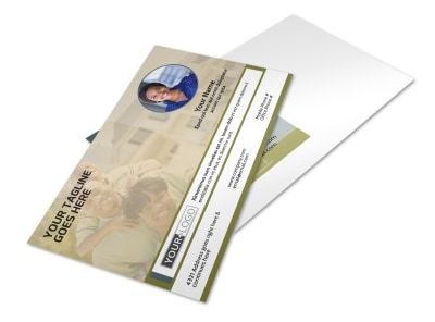 Homeowners Insurance Postcard Template preview