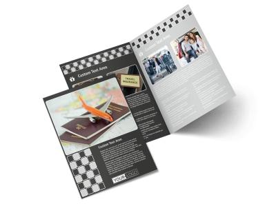 Travelers Insurance Bi-Fold Brochure Template preview