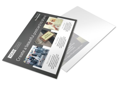 Travelers Insurance Postcard Template preview