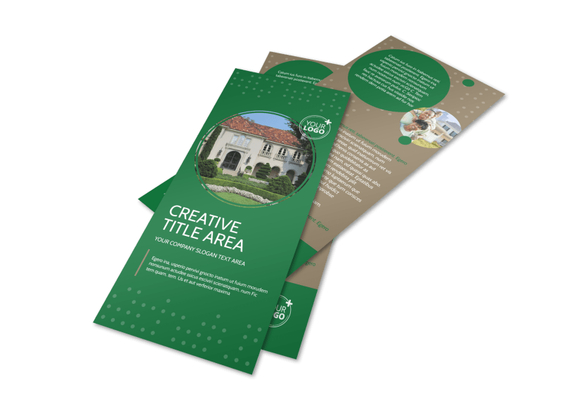 Beautiful Home Landscape Flyer Template Preview 1