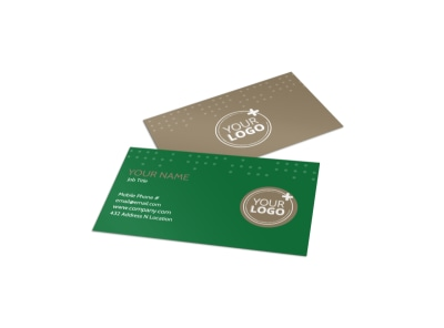 Beautiful Home Landscape Business Card Template preview