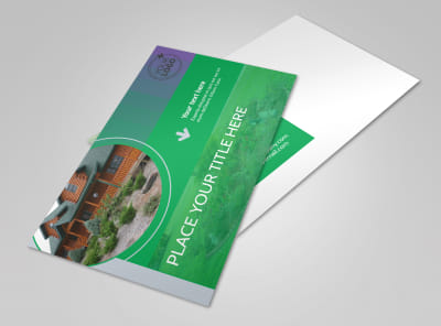 Residential Landscaping Postcard Template preview