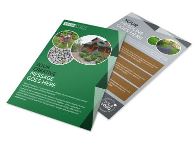 Landscaper Flyer Template preview