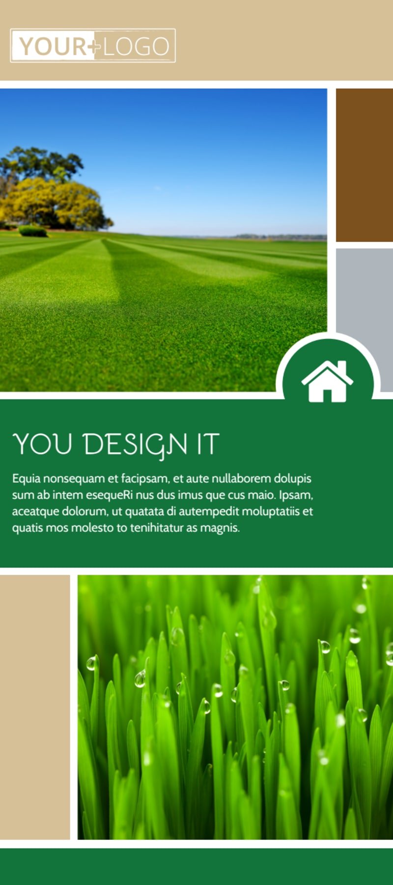 Elite Lawn Care Flyer Template Preview 2