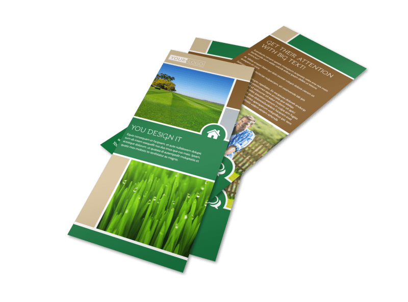 Elite Lawn Care Flyer Template Preview 1
