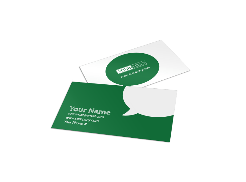 Elite Lawn Care Business Card Template | MyCreativeShop