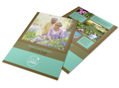 Beautiful Landscaping Flyer Template