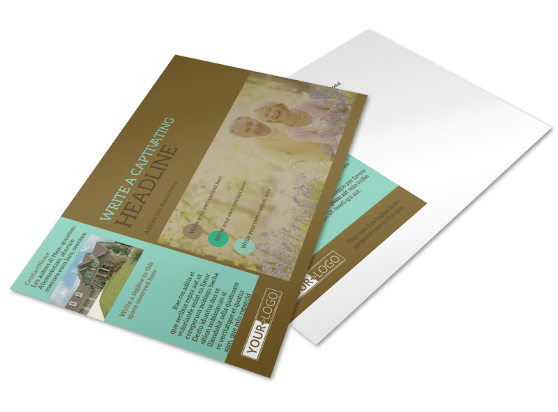 Beautiful Landscaping Postcard Template Preview 1
