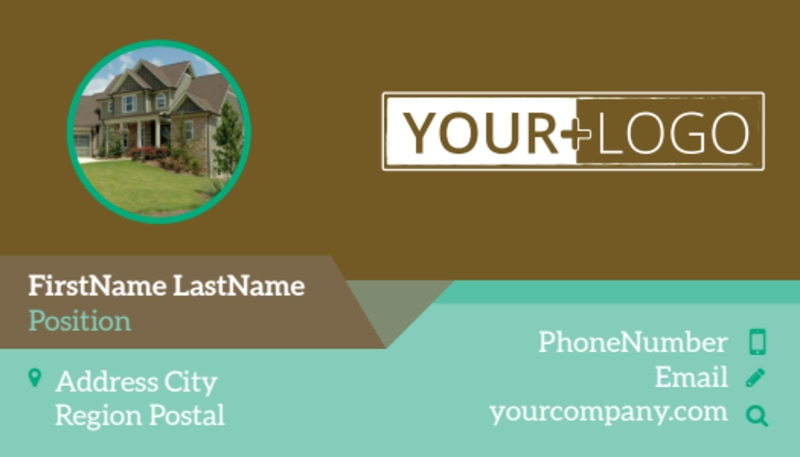 Beautiful Landscaping Business Card Template Preview 2