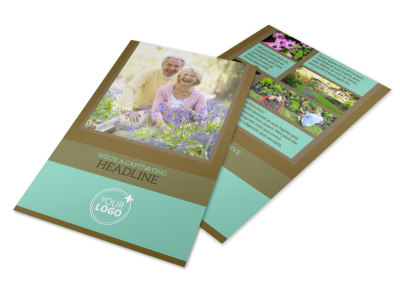 Beautiful Landscaping Flyer Template preview