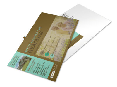 Beautiful Landscaping Postcard Template preview