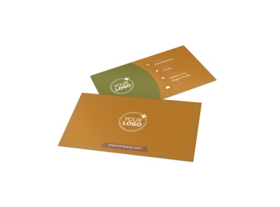 Curb Appeal Landscape Business Card Template preview