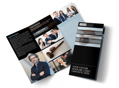 Law Office Tri-Fold Brochure Template