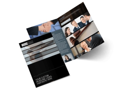 Law Office Bi-Fold Brochure Template