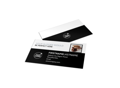Law Office Business Card Template
