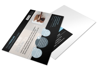 Law Office Postcard Template preview