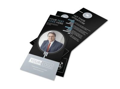 Family Law Attorney Flyer Template