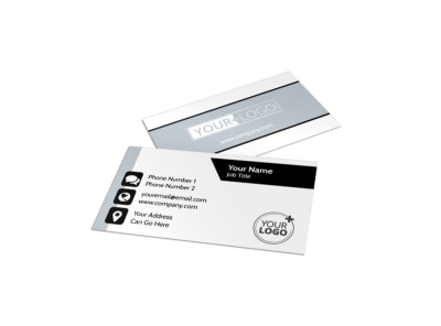 Family Law Attorney Business Card Template