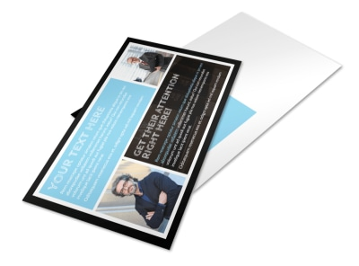 Family Law Attorney Postcard Template