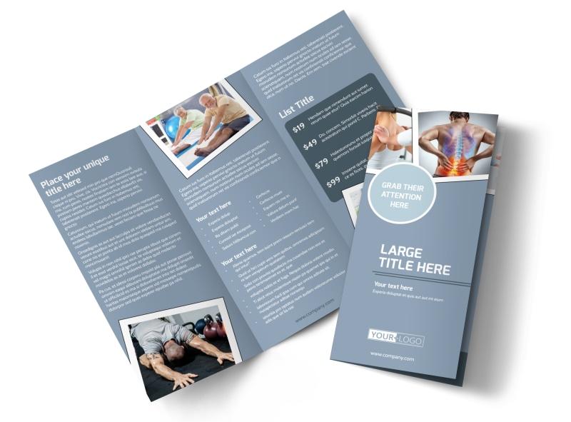 Orthopedics & Sports Medicine Brochure Template Preview 4