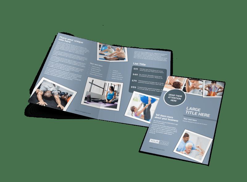 Orthopedics & Sports Medicine Brochure Template Preview 1