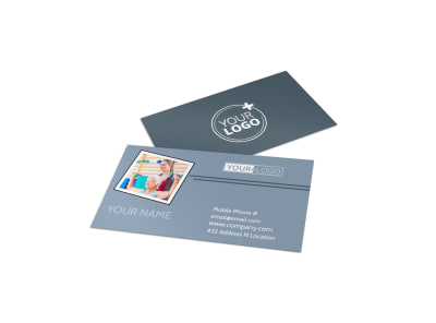 Orthopedics & Sports Medicine Business Card Template preview