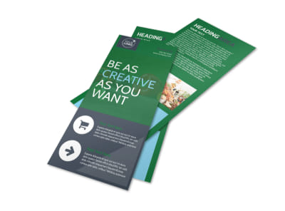 Nutritional Consultant Flyer Template preview