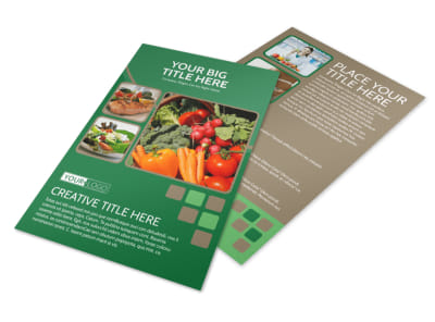 Diet & Nutrition Experts Flyer Template