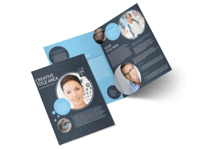 Vision Health Center Bi-Fold Brochure Template
