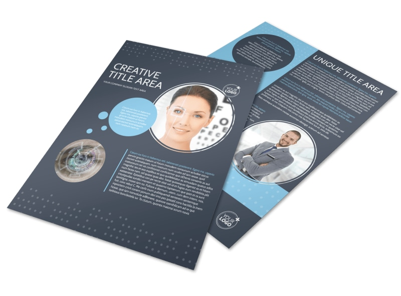 Vision Health Center Flyer Template