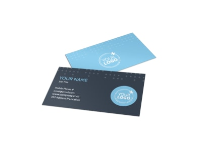 Vision Health Center Business Card Template preview