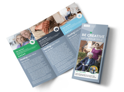 Assisted Living Center Tri-Fold Brochure Template