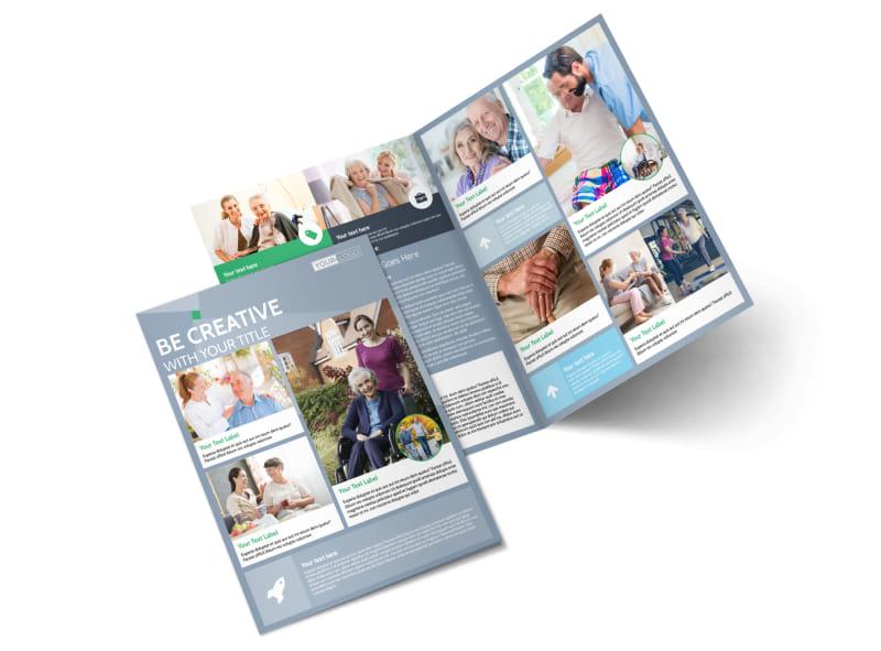 Assisted Living Center Bi-Fold Brochure Template