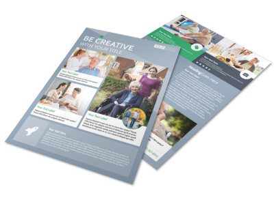 Assisted Living Center Flyer Template