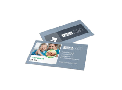 Assisted Living Center Business Card Template