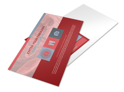 Blood Drive Postcard Template