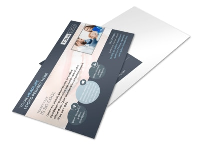 Quality Dentist Postcard Template preview