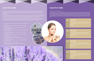 Essential Oils Brochure Template Preview 2