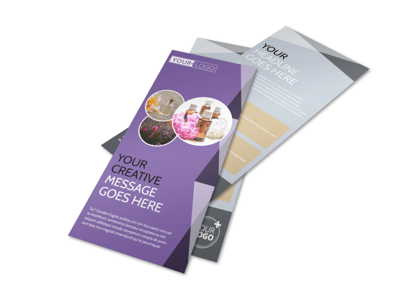 Essential Oils Flyer Template Preview 1