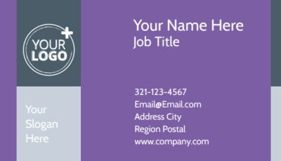 Essential Oils Business Card Template Preview 1