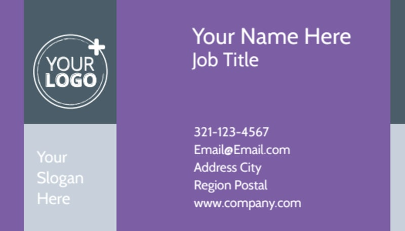Essential Oils Business Card Template Preview 2