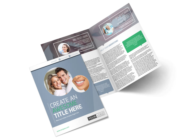 Family Dental Practice Brochure Template Preview 4