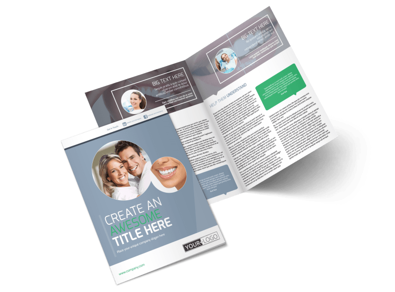 Family Dental Practice Brochure Template Preview 1