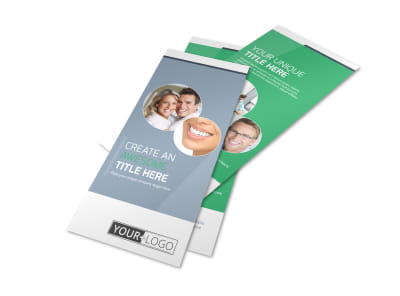 Family Dental Practice Flyer Template preview
