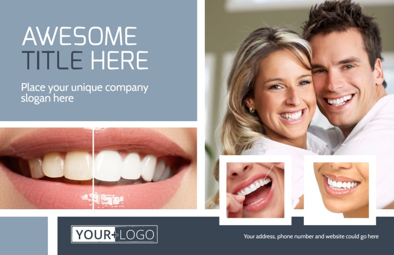 Family Dental Practice Postcard Template Preview 2