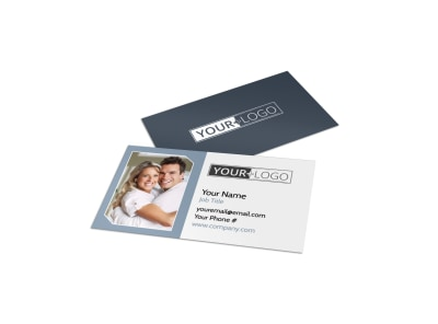 Family Dental Practice Business Card Template preview