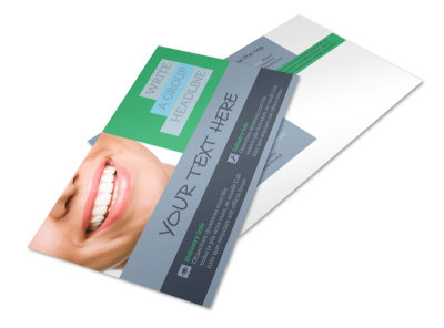 Friendly Smiles Dentistry Postcard Template