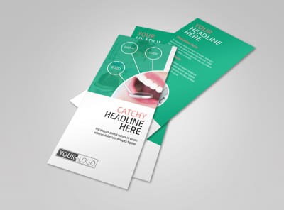 Premier Dental Clinic Flyer Template preview