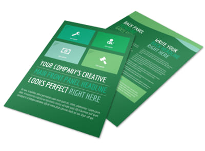 Healthy Diet Specialists Flyer Template preview