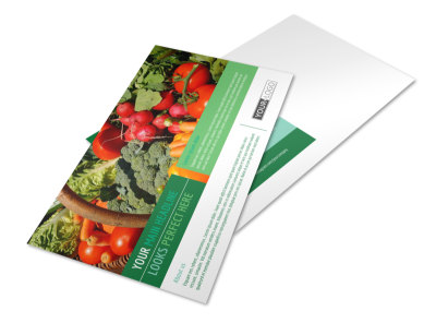 Healthy Diet Specialists Postcard Template preview